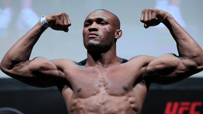 Kamaru Usman, UFC, wrestling