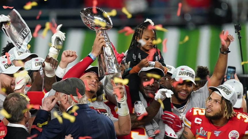 Kansas City Chiefs and San Francisco 49ers, Super Bowl LIV, Hard Rock Stadium, Miami USA - {0day} Feb 2020