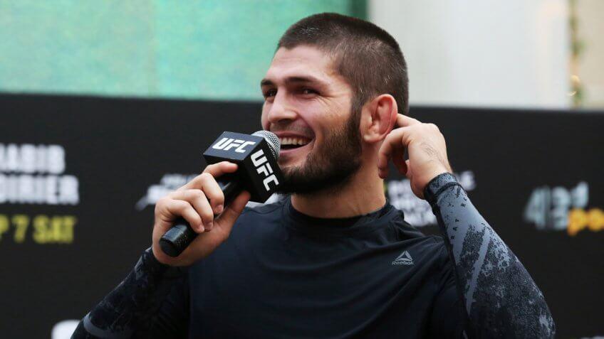 Khabib Nurmagomedov, UFC, wrestling