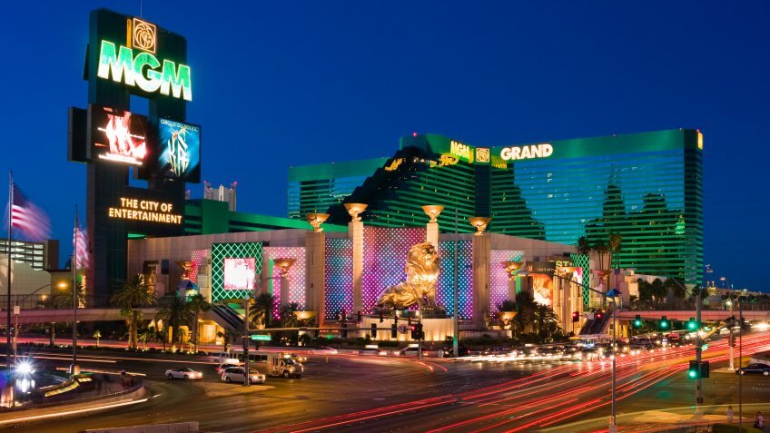 MGM Grand hotel in Vegas