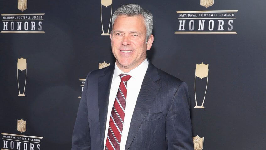 Mandatory Credit: Photo by Peter Barreras/Invision/AP/Shutterstock (9352989cc)Former NFL player Mark Brunell arrives at the 7th Annual NFL Honors at the Cyrus Northrop Memorial Auditorium, in Minneapolis, MinnesotaNFL Honors, University of Minnesota, Minneapolis, USA - 03 Feb 2018.
