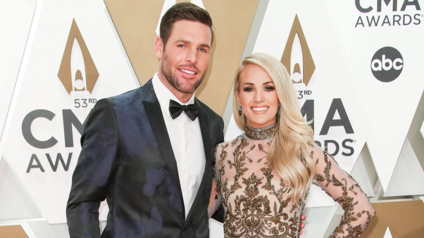 Mike Fisher and Carrie Underwood53rd Annual CMA Awards, Arrivals, Bridgestone Arena, Nashville, USA - 13 Nov 2019.
