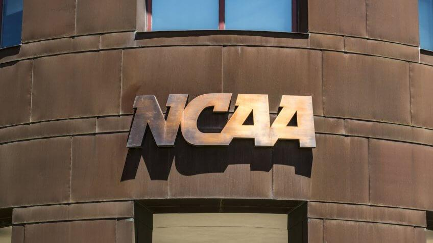 Indianapolis - Circa June 2017: National Collegiate Athletic Association Headquarters.