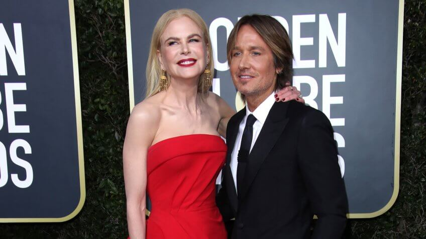 Nicole Kidman and Keith Urban77th Annual Golden Globe Awards, Arrivals, Los Angeles, USA - 05 Jan 2020.