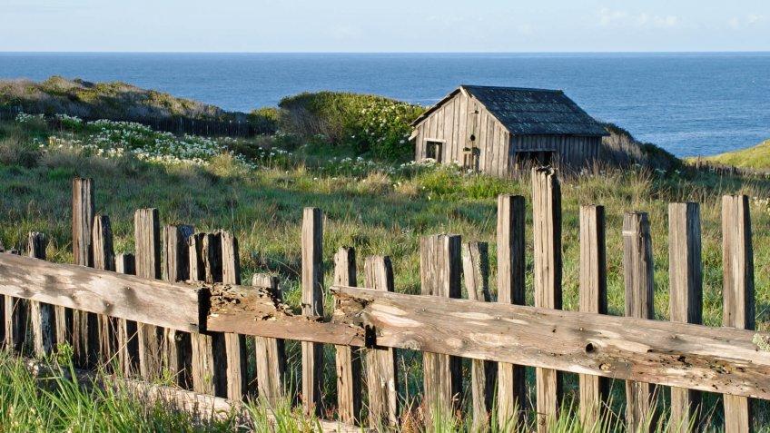 """""""Rural scenic in Sea Ranch (Sonoma county, California)."""