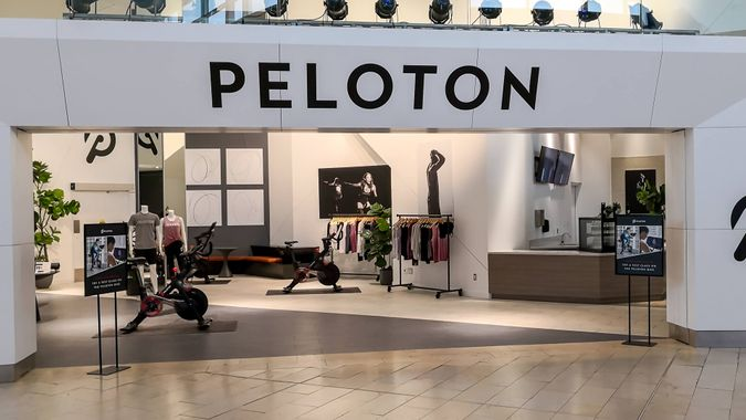 Peloton exercise service