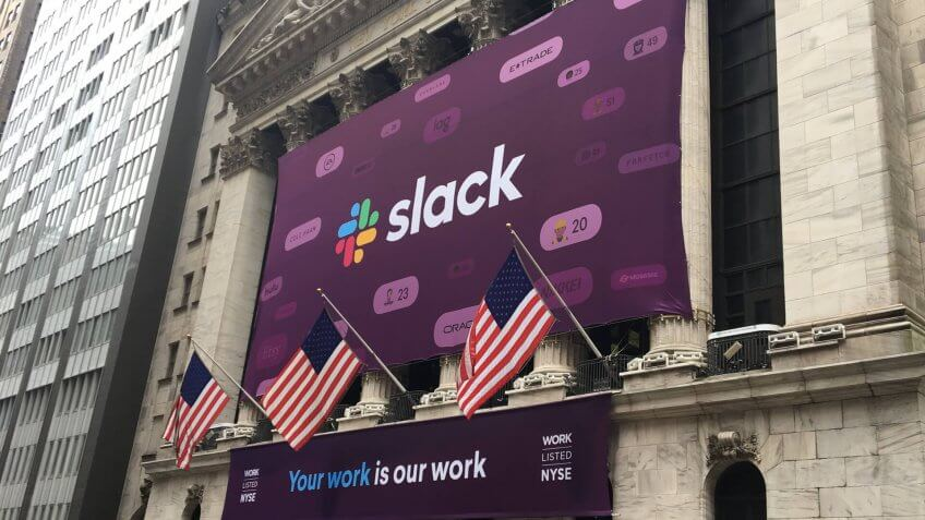 Slack communications service