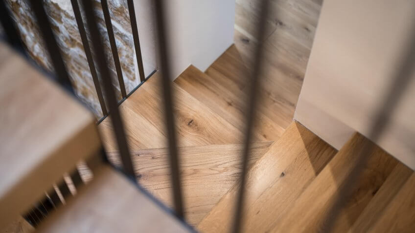 Staircase, Steps, Residential Building, Construction Industry, Hotel.