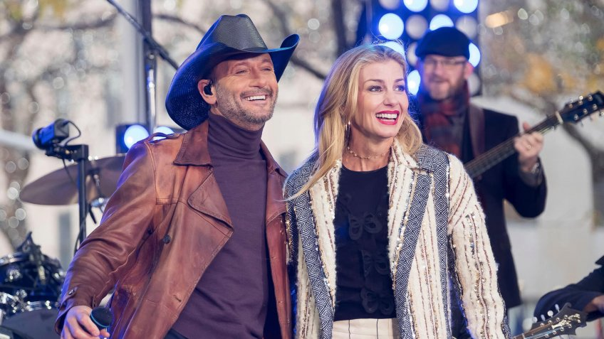 Tim McGraw, Faith Hill.