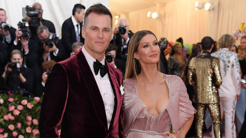 Tom Brady and Gisele BundchenCostume Institute Benefit celebrating the opening of Camp: Notes on Fashion, Arrivals, The Metropolitan Museum of Art, New York, USA - 06 May 2019.