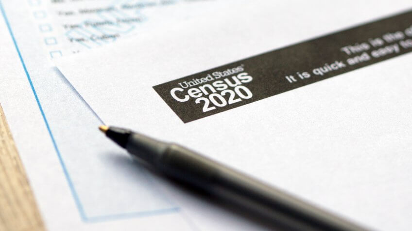 United States Census 2020 forms