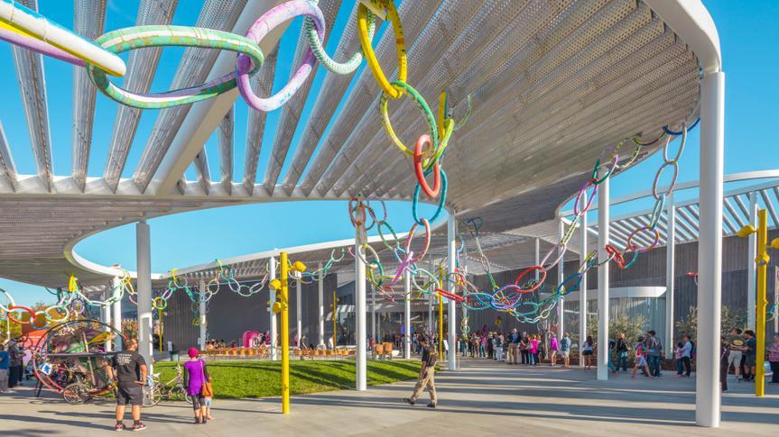 SACRAMENTO, USA NOV 13th 2016; Shrem Museum of Art at the Campus of UC Davis.
