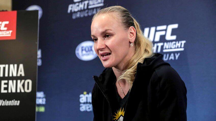 Valentina Shevchenko, UFC, wrestling