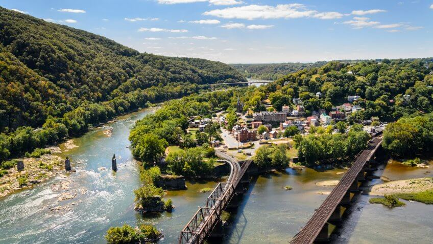 Harpers Ferry National Historical Park.