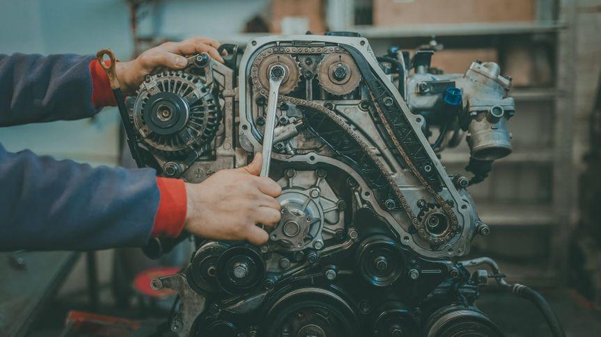 car engine repair.