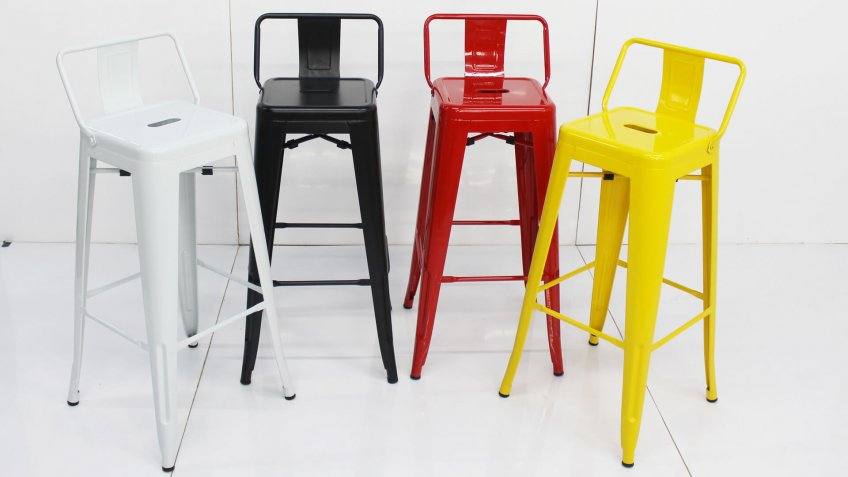 Furniture for restaurants and home such as bar stool and bar chairs.