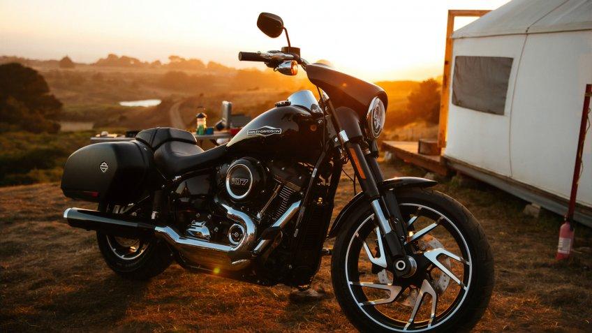 motorcycle harley-davidson.