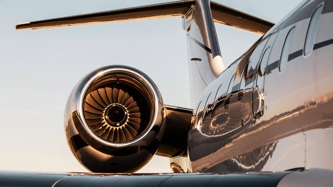 Corporate Jet.