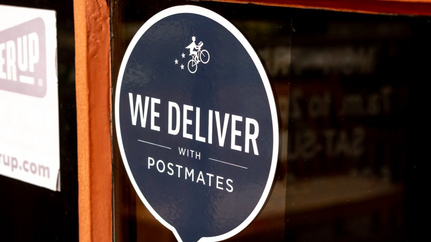 Postmates delivery service