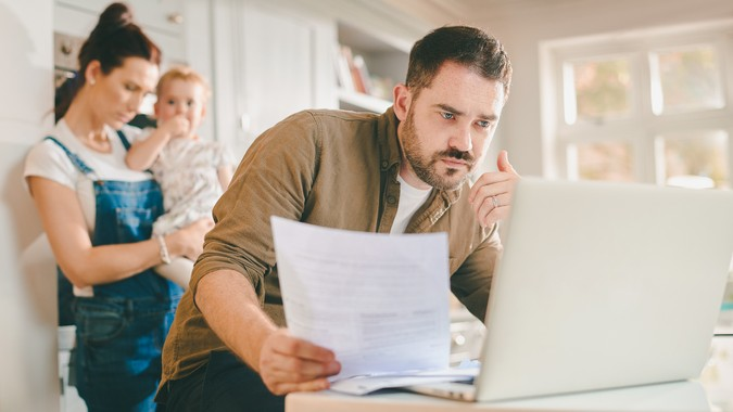young family taxes finances