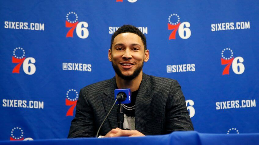 Ben Simmons, Philadelphia 76ers, Sixers