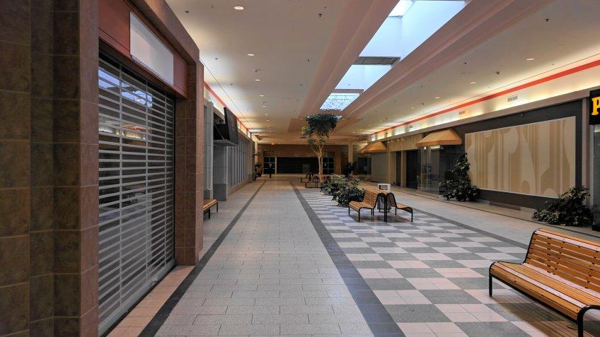 Berkshire Mall — Lanesborough, Massachusetts interior.