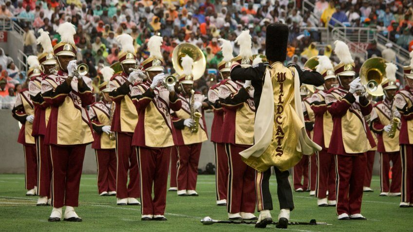 Bethune-Cookman University marching band