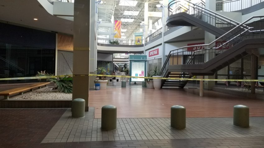 Burlington Center Mall in Burlington Township, New Jersey.