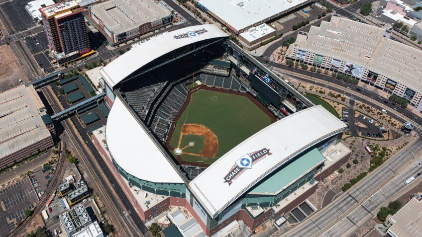 Phoenix, Arizona-December 16, 2016-The Cactus Bowl returns to Chase Field in Downtown Phoenix on Tuesday, December 27th when the Boise State Broncos take on the Baylor Bears.