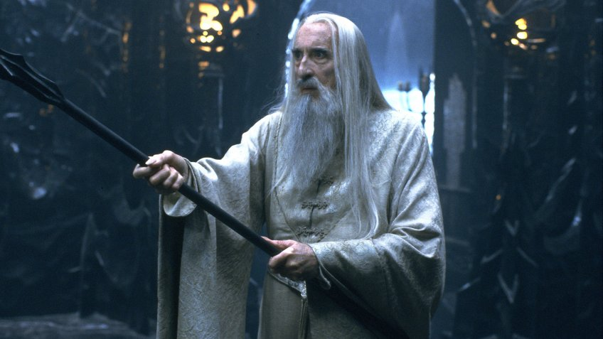 Christopher Lee Lord of the Rings