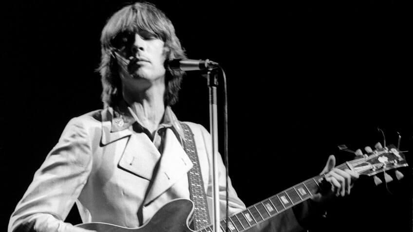 Mandatory Credit: Photo by Ray Stevenson/Shutterstock (563284e)Cream - Eric ClaptonCream Farewell Concert, Royal Albert Hall, London, Britain - 26 Nov 1968.