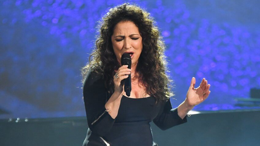Mandatory Credit: Photo by Rob Latour/Variety/Shutterstock (9894820do)Gloria EstefanQ85: A Musical Celebration For Quincy Jones, Inside, Los Angeles, USA - 25 Sep 2018.