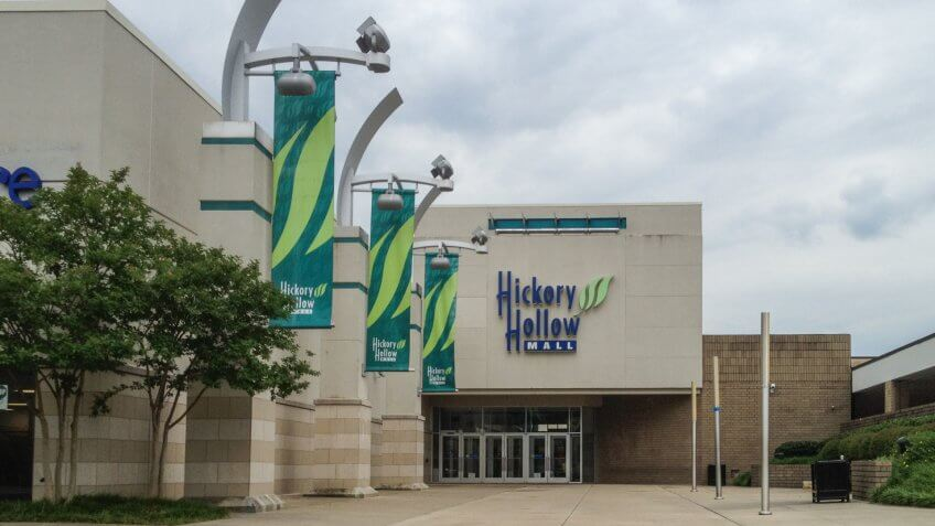 Hickory Hollow Mall in Antioch, Tennessee.