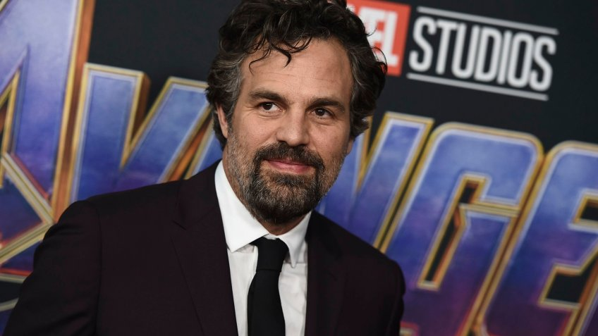 """Mandatory Credit: Photo by Jordan Strauss/Invision/AP/Shutterstock (10216462et)Mark Ruffalo arrives at the premiere of """"Avengers: Endgame"""" at the Los Angeles Convention Center onLA Premiere of """"Avengers: Endgame"""" - Arrivals, Los Angeles, USA - 22 Apr 2019."""