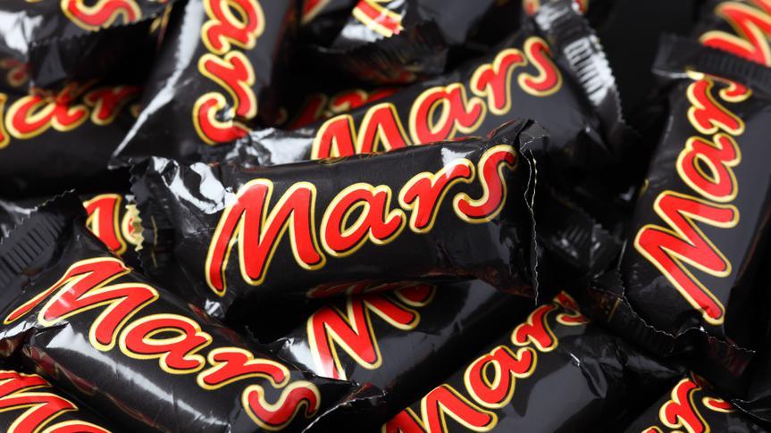 Mars candy bars