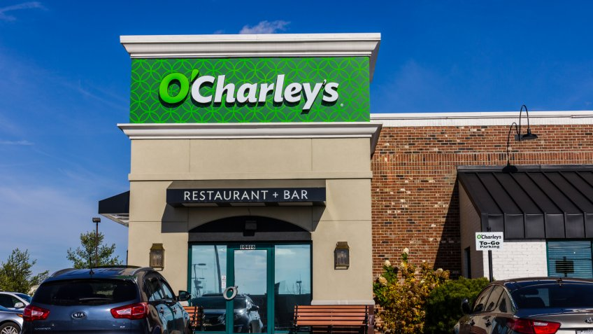 Indianapolis, US - November 18, 2016: O'Charley's Casual Dining Restaurant.
