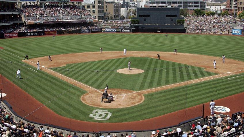 Petco Park ball field.