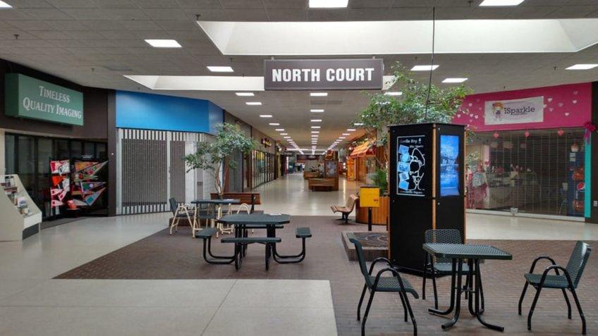 Rapids Mall in Wisconsin Rapids, Wisconsin interior.