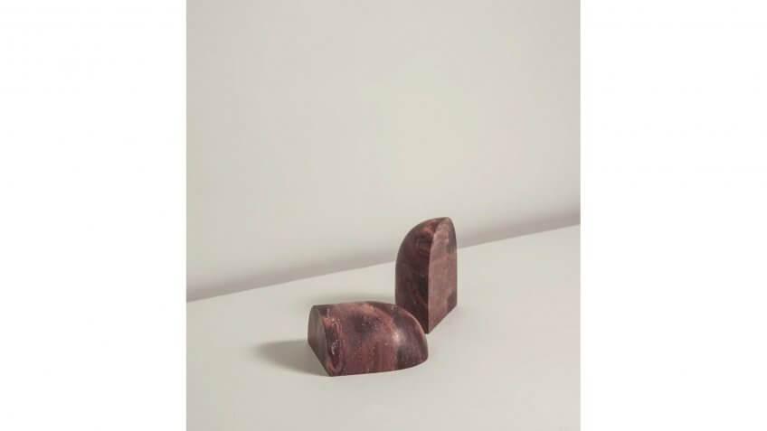 Rodrigo Bravo Monolith Series - Dome Bookend - Matter