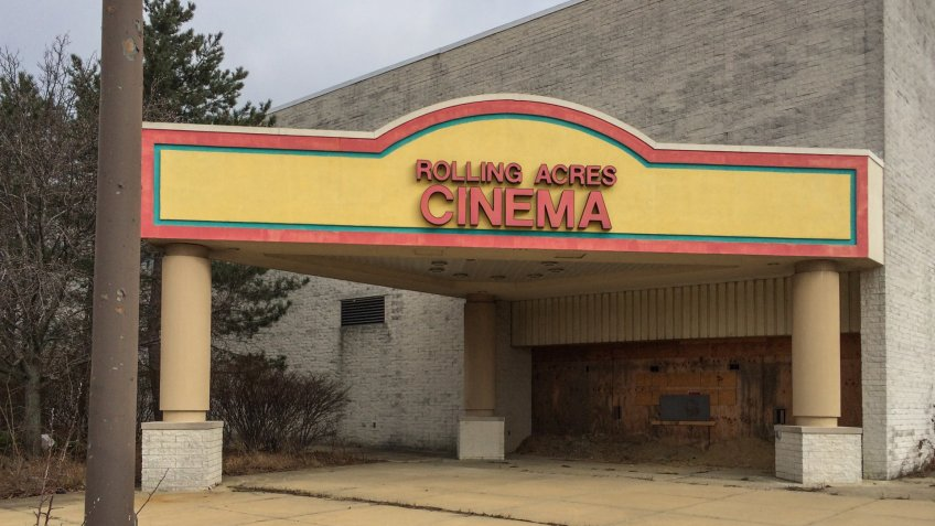 Rolling Acres Cinema in Akron, Ohio.