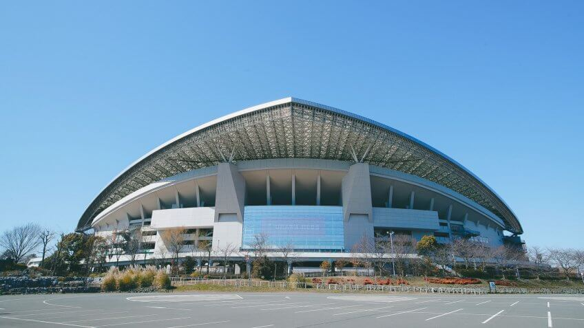 Mandatory Credit: Photo by Aflo/Shutterstock (10585728d)Saitama Stadium, venue for soccer at the Tokyo 2020 Olympic Games pictured in Saitama, Japan.