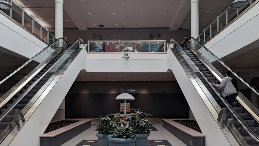 Silver City Galleria — Taunton, Massachusetts interior.
