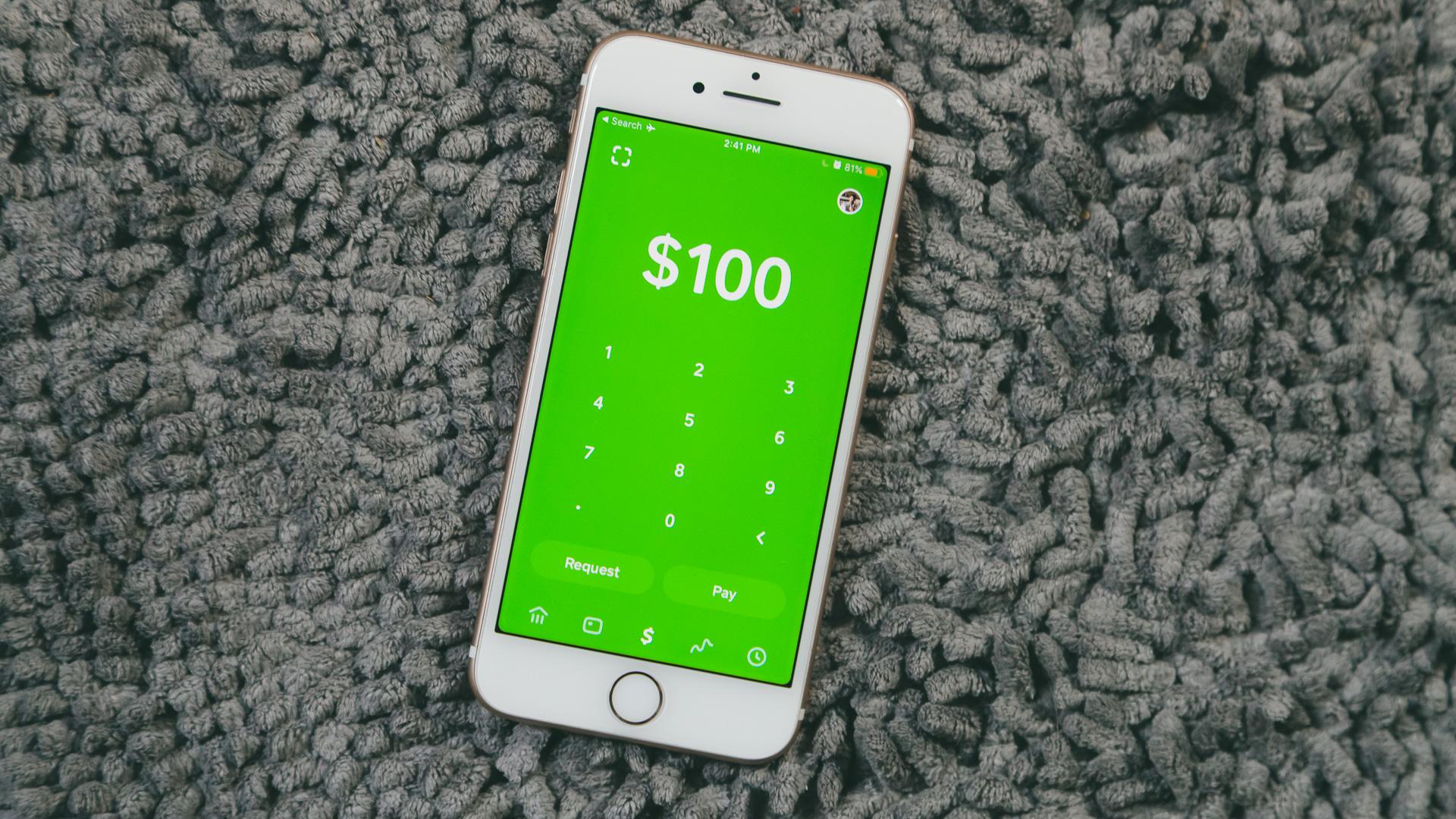 Square Cash app.