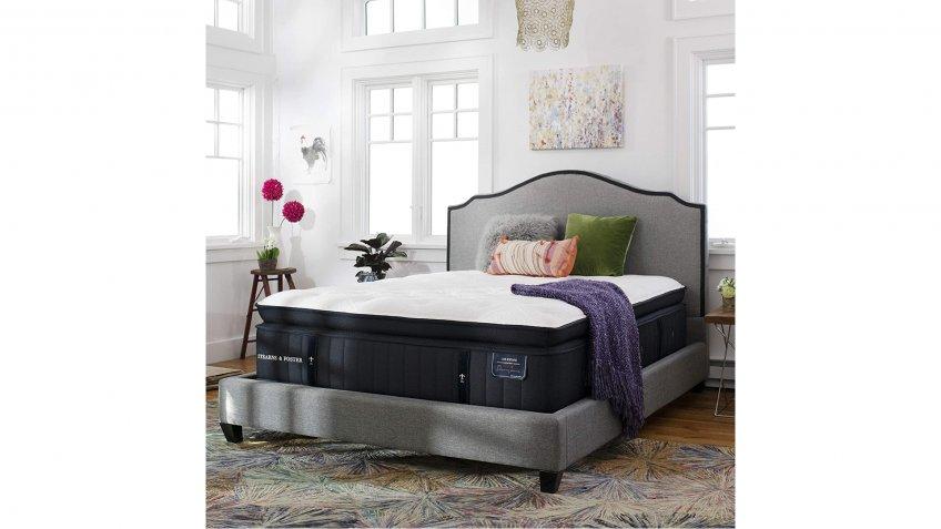 Stearns & Foster Lux Estate, 16-Inch Luxury Ultra Plush Euro Pillowtop Mattress - Amazon