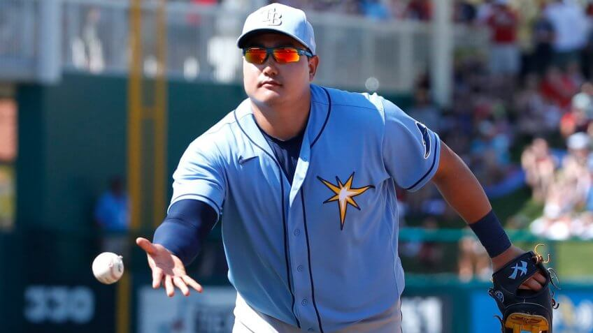 Ji-Man Choi, Tampa Bay Rays, first baseman