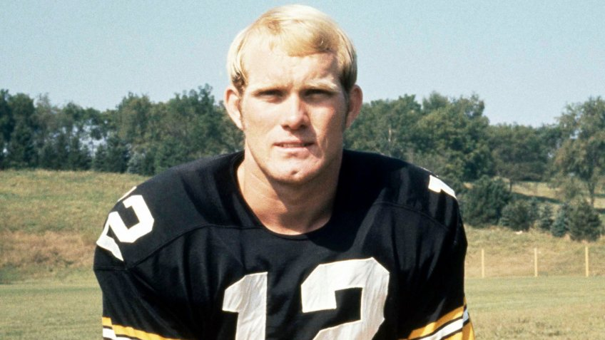 Mandatory Credit: Photo by Hc/AP/Shutterstock (6649905a)Terry Bradshaw, quarterback for the Pittsburgh Steelers, is shown in 1970Steelers Bradshaw 1970, USA.