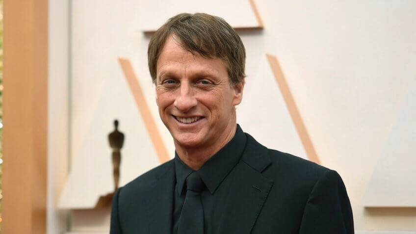 Tony Hawk arrives at the Oscars, at the Dolby Theatre in Los Angeles92nd Academy Awards - Arrivals, Los Angeles, USA - 09 Feb 2020.