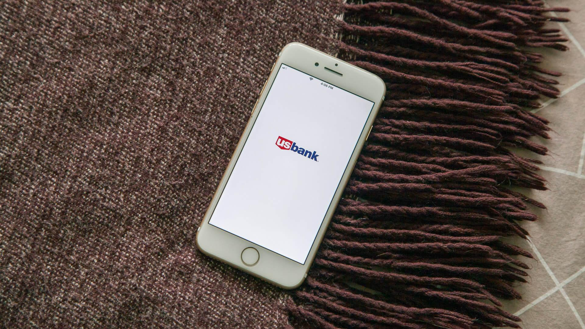 US Bank financial services app