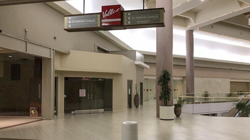 Vallco Shopping Mall in Cupertino, California.