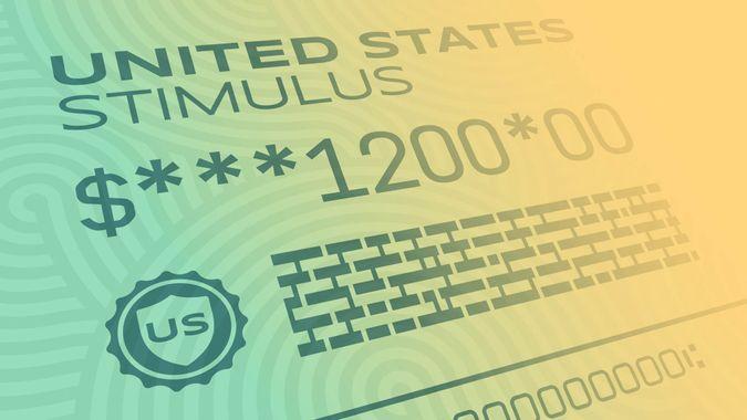 United States Treasury stimulus payment for Coronavirus CoViD-19 outbreak disease.